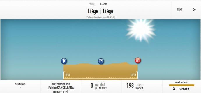 Tour de France 2012 Prolog
