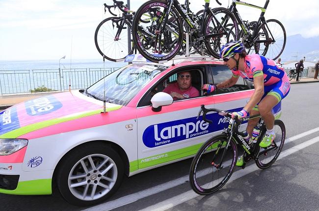 Giro d'Italia 2013: Lampre-Merida – Takım Lojistiği