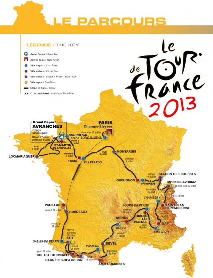 Mustafa Arslan'dan Tour de France (Fransa Turu) 2013 Favoriler Değerlendirmesi