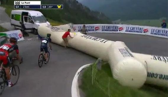 Tour de Suisse (İsviçre Turu) 2013 7. Etap: Şişme Kapı Söndü