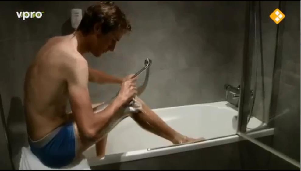 andy schleck mytour leg shaving