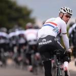 Britanya Ulusal Şampiyonluk mayosuyla Mark Cavendish