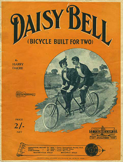 İnceleme: Harry Dacre – Daisy Bell (On A Bicycle Built For Two)