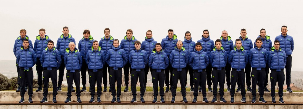 team with coats