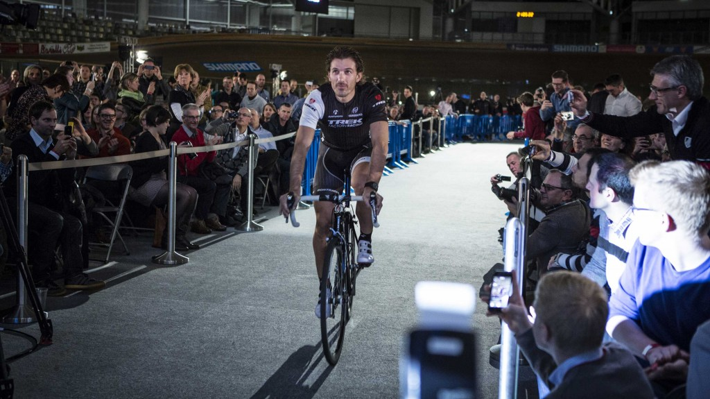 trek factory racing team presentation roubaix veledrom cancellara 01