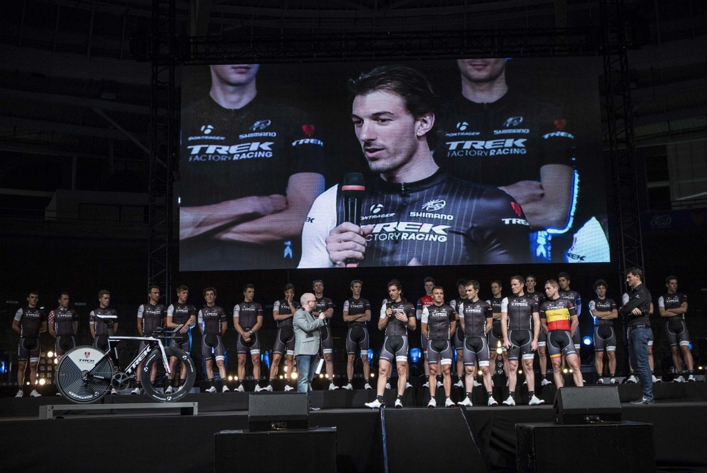 trek factory racing team presentation roubaix veledrom cancellara 02