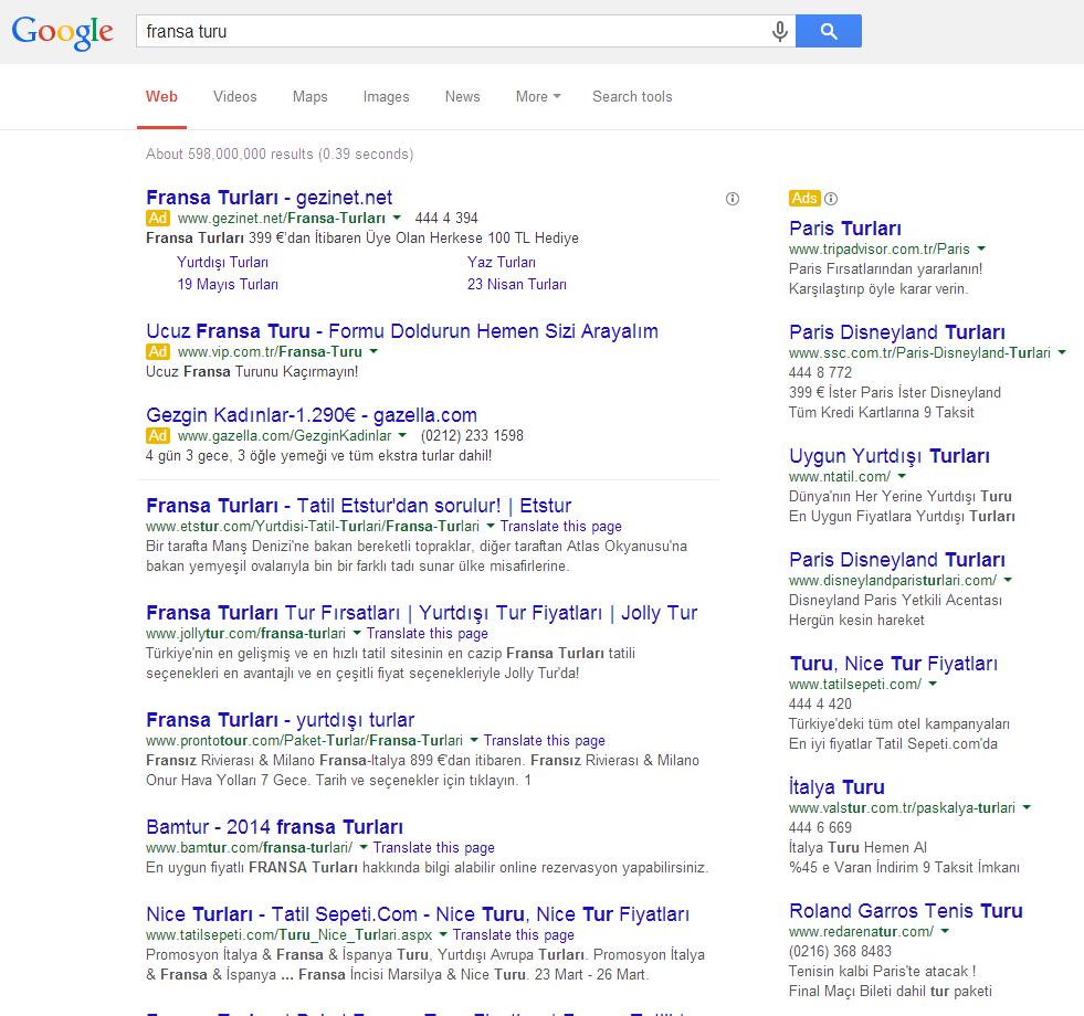 fransa turu google 2014-03-19