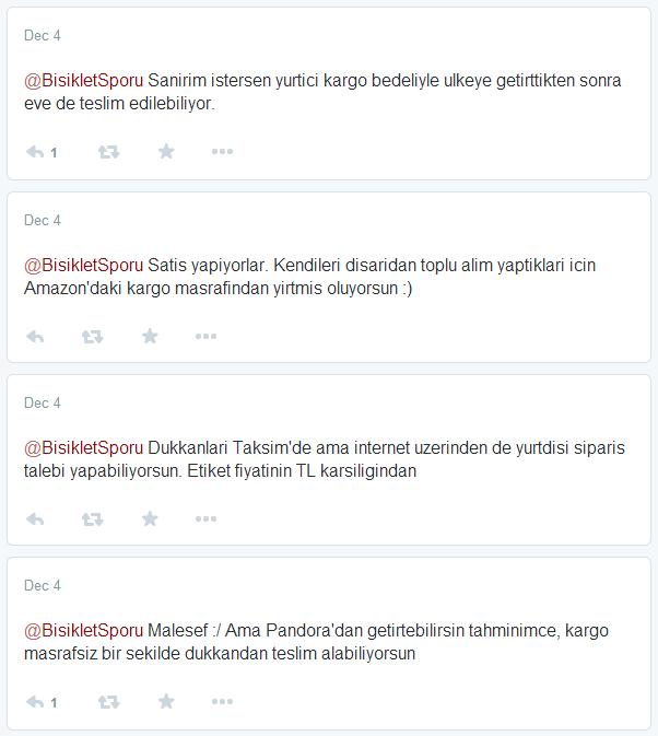 pandora tweets