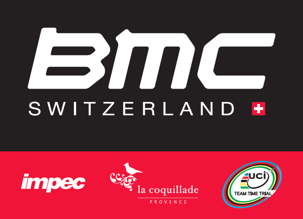BMC Racing Team Podium Sticker