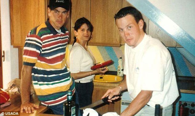 Betsy, Frankie Andreu ve Lance Armstrong. Eskiden oldukça yakın arkadaştılar.