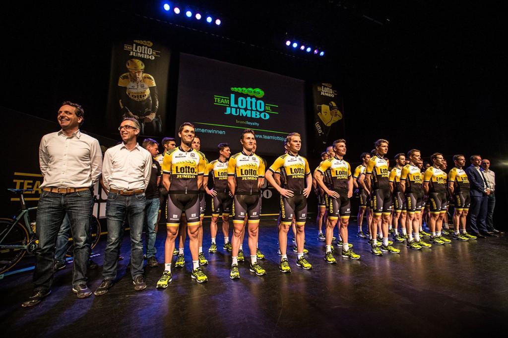 ROSMALEN - WIelerploeg presentatie Lotto Jumbo. Foto: DIederik van der Laan