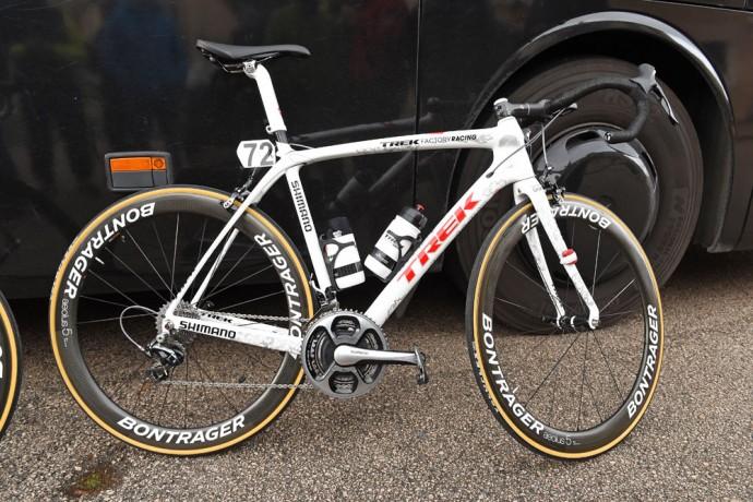 Fabian Cancellara'nın Özel 2015 Trek Domane'si